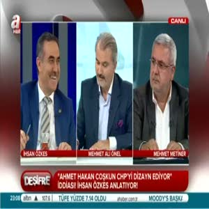 İhsan Özkes: Ahmet Hakan CHP'ye akıl hocalığı yapıyor!