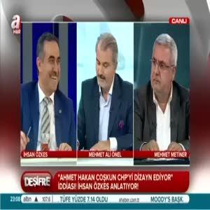 CHP'nin akıl hocalığını yapan gazeteci kim?