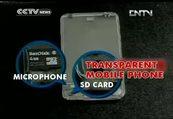 Transparan telefon gerçek olmak üzere