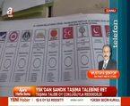 Mustafa Şentop, YSK'nın sandık taşıma talebi ile kararını değerlendirdi