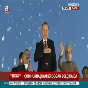 Erdoğan: Nerede kaldı insan hakları beyannamesi