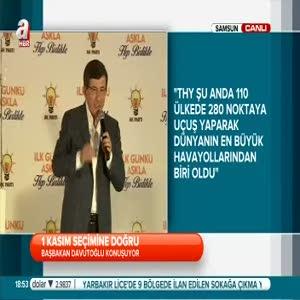 Başbakan Davutoğlu, müjdeleri bir bir sıraladı