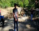 Orman yakmaya çalışan teröristleri vatandaş yakaladı