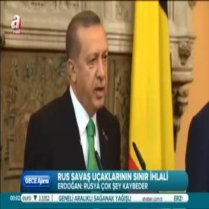 Erdoğan: Türkiye'nin sabrı taşıyor