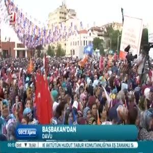 Başbakan Davutoğlu HDP'yi eleştirdi