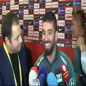 Arda Turan'ın maç sonu açıklamaları
