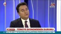 """Ali Babacan: """"Türkiye'de kriz tablosu yok"""""""