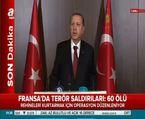 Cumhurbaşkanı Erdoğan Paris saldırısıyla ilgili açıklama yaptı