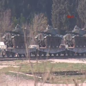 Onlarca tank sınıra ulaştı!