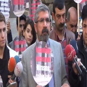 Tahir Elçi'nin saldırıdan dakikalar önceki konuşması