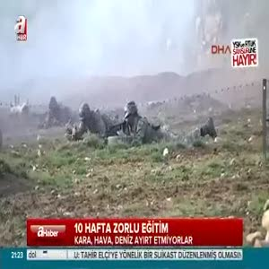 Komandoların nefes kesen görüntüleri!