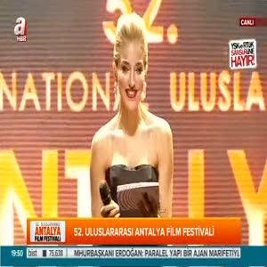 Jeremy Irons'a Antalya'da ödül