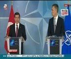 Davutoğlu Brüksel'de açıklamalarda bulundu