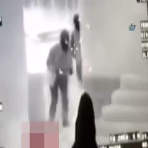 Polise saldırmak isteyen teröristler böyle vuruldu