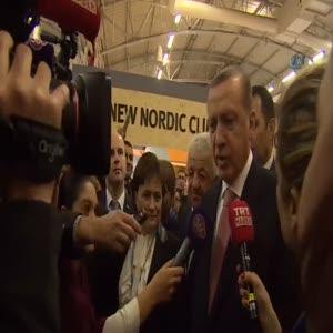 """Erdoğan: """"Hollande'la bundan sonraki sürece yönelik adımları planladık"""""""