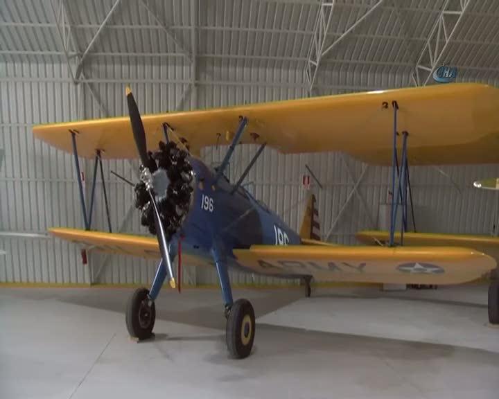 İşte Türkiye'nin en yaşlı uçağı