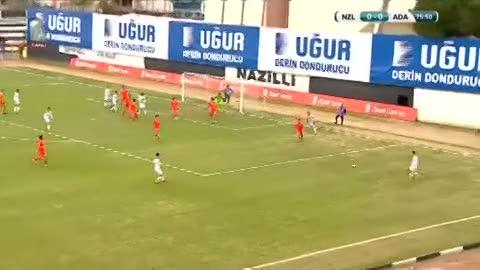Nazilli Belediyespor: 0 - Adanaspor: 1