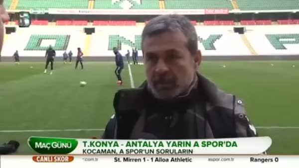 Aykut Kocaman: En büyük amacımız kupada final