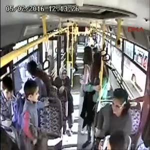 Otobüs şoförünün hayat kurtarma çabası da yetmedi