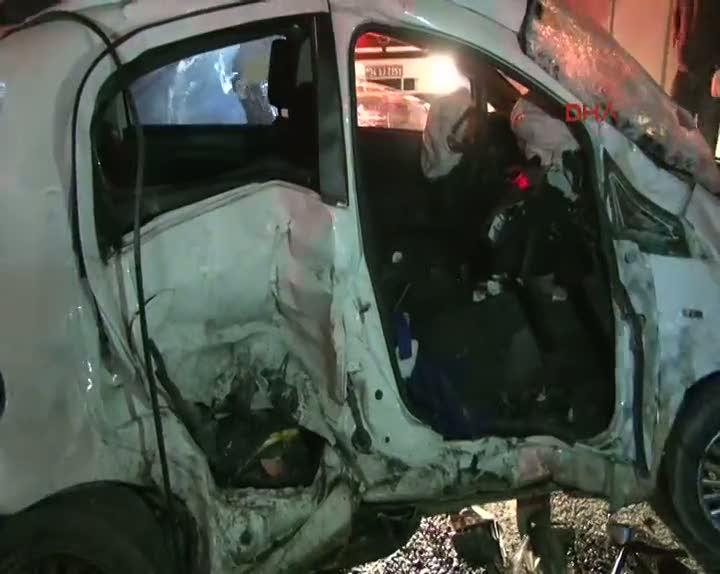 Ümraniye'de feci kaza can aldı