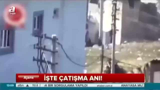 Şırnak'ta teröristlerin etkisiz hale getirilme anı kamerada