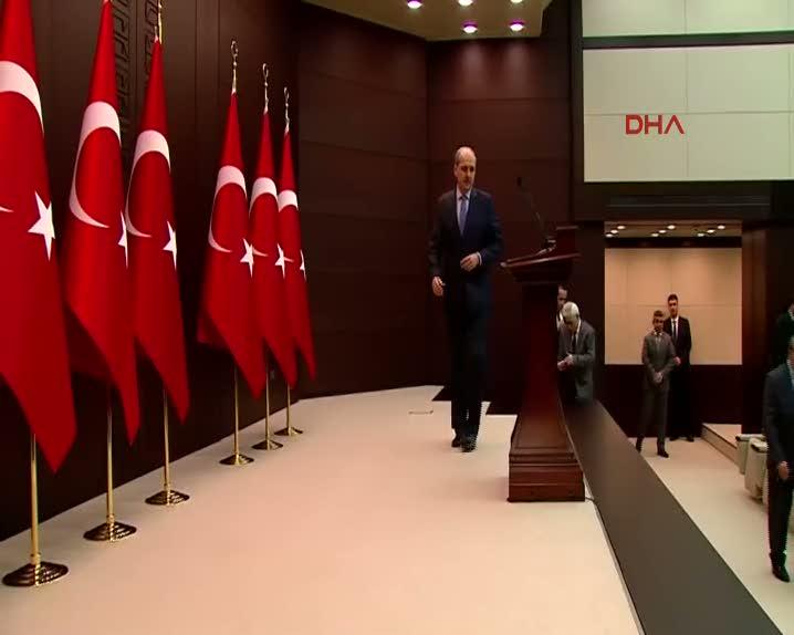 Hükümet Sözcüsü Kurtulmuş, Bakanlar Kurulu toplantısının ardından konuştu