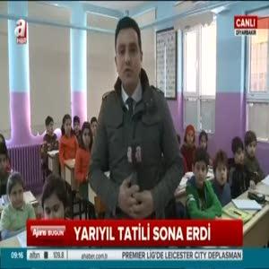 PKK'nın yaktığı 10 okul onarıldı