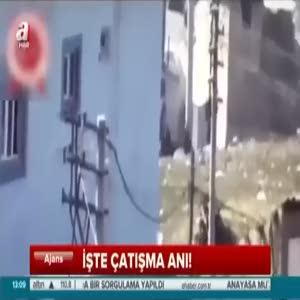 Şırnak'ta teröristlere düzenlenen operasyon anı kamerada