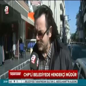 CHP'li belediyede hendekçi müdür
