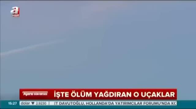 """Rus uçaklarından sınırda """"U"""" dönüşü"""