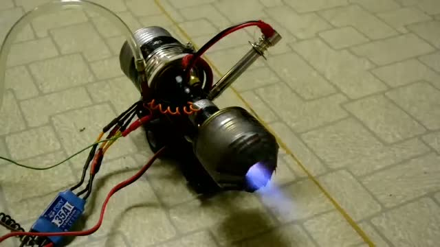 Ev yapımı mini jet motoru