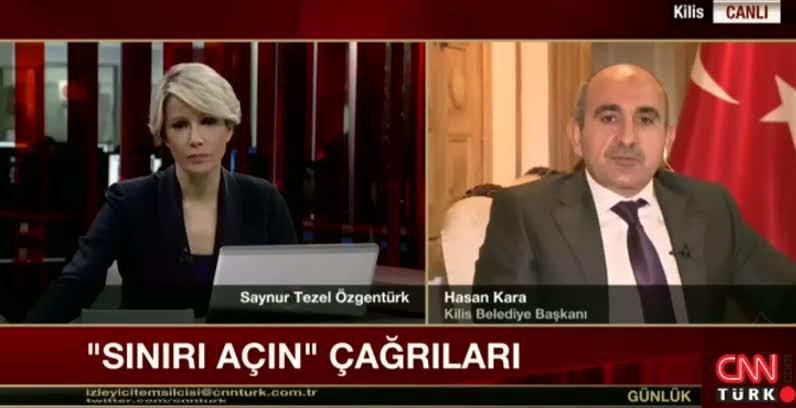 Kilis Belediye Başkanı: İki sınır kapısını da açalım