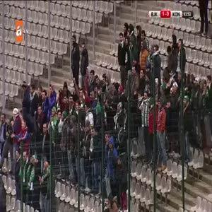 Beşiktaş: 1- Torku Konyaspor: 1