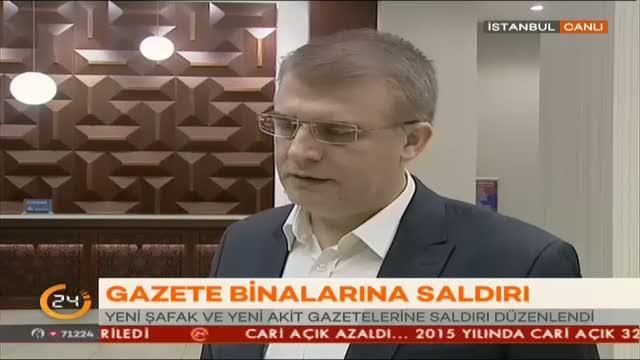 Yeni Akit Haber Müdürü Kenan Kıran, saldırıya tepki gösterdi!