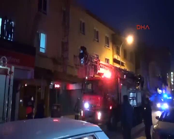 Konya'da otelde yangın çıktı!