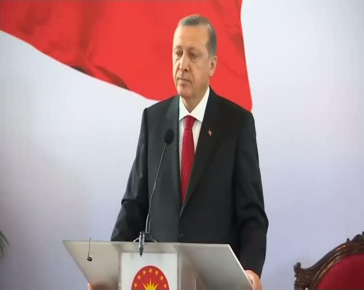 """Cumhurbaşkanı Erdoğan """"Suriye'nin genelinde şu anda ateşkes yoktur"""""""