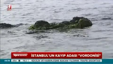 "İşte İstanbul'un kayıp adası ""Vordonisi"""