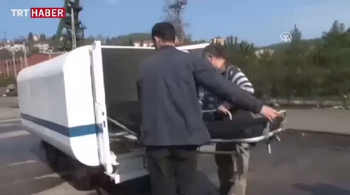 Bu da 'yer altı ambulansı'