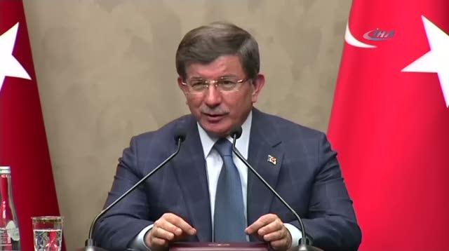 """Başbakan Davutoğlu """"Olmazsa Türkiye taahhütlerine bağlı kalamaz"""""""