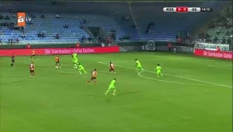 Çaykur Rizespor: 0 -Galatasaray: 1