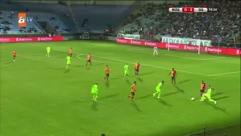 Çaykur Rizespor 1- Galatasaray: 2