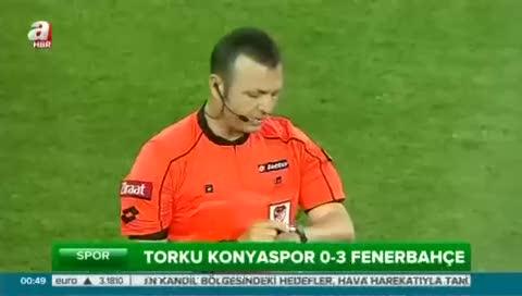 Torku Konyaspor: 0- Fenerbahçe: 3 (Özet)
