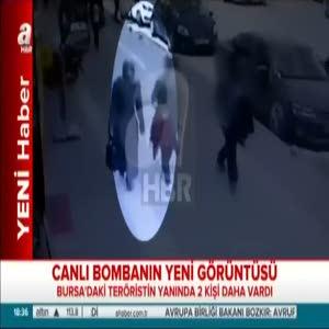 Bursa'daki canlı bombanın yeni görüntüsü