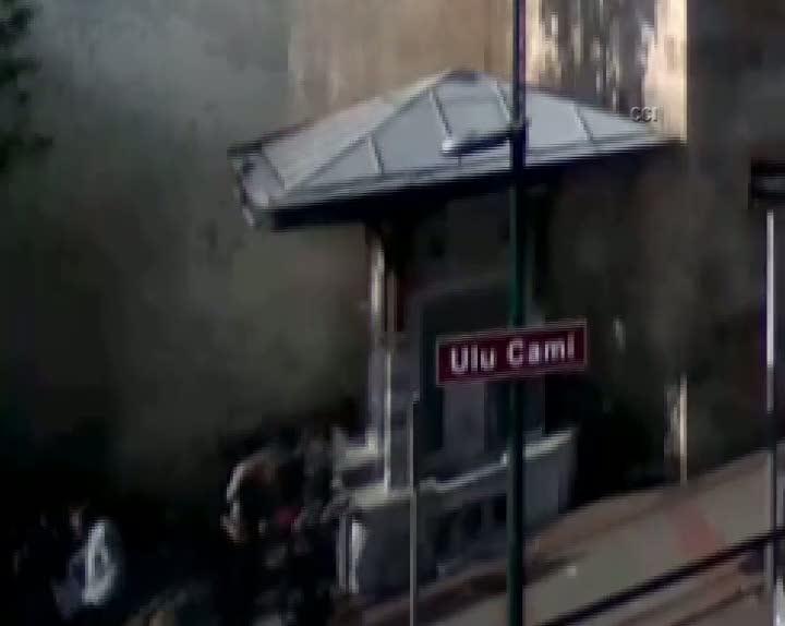 Canlı bomba saldırısı MOBESE kamerasında