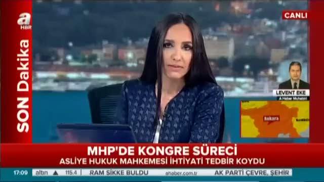 MHP kongresinde flaş mahkeme kararı!