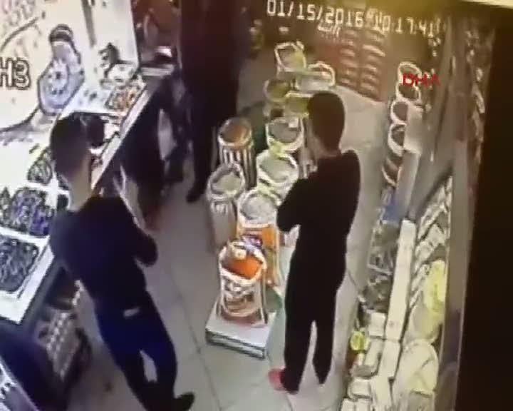 Esenyurt'taki olay güvenlik kamerasında