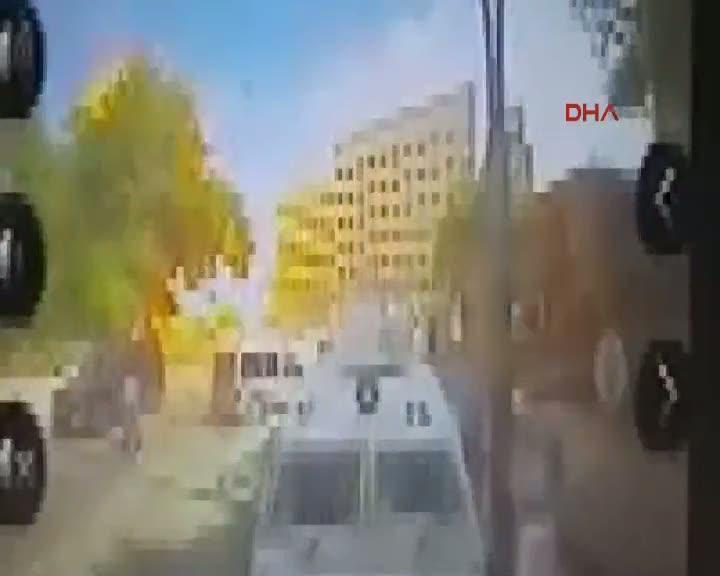 Gaziantep'te patlama anı