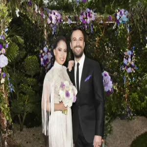 Megastar Tarkan evlendi! İşte Tarkan'ın düğün görüntüleri!