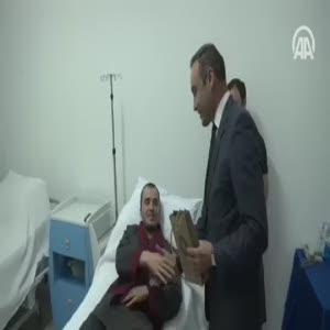 Cumhurbaşkanı Erdoğan'dan yaralı askere yeni telefon jesti