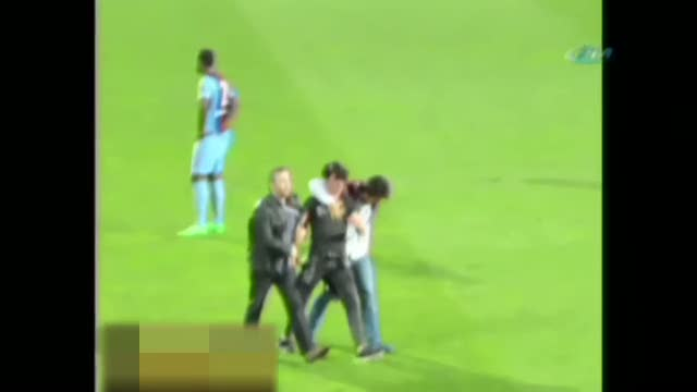 Trabzonspor'un cezası belli oldu! Trabzonspor'a 4 maç seyircisiz oynama ve para cezası!
